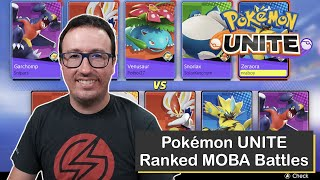 Winning at Pokémon UNITE on Nintendo Switch