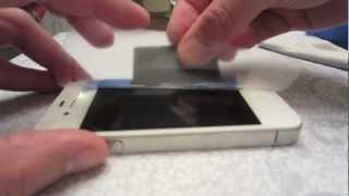 How To_ Perfectly Install a Screen Protector - Hinge Method