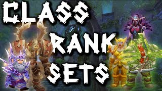 Should my class RANK? Classic WoW PvP Class Sets