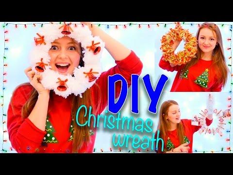 DIY РОЖДЕСТВЕНСКИЕ ВЕНКИ Christmas wreath | SWEET HOME скачать