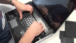 How to change a Hewlett Packard (HP) DV7-2000 and DV7-3000 Notebook/Laptop keyboard