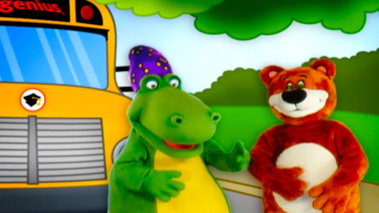 Wheels On The Bus Song Sing Along Nursery Rhymes Kids Songs From Baby Genius You