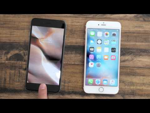 iPhone 6s Plus Touch ID Compared to iPhone 6 Plus