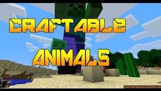Craftable Animals Mod 1.6.4 Minecraft