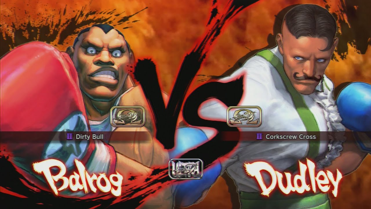 ultra street fighter iv balrog vs dudley youtube