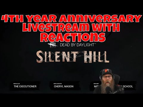 Dead By Daylight 4 Year Anniversary Live Stream With Reactions