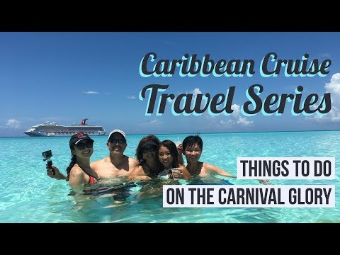 Things to do on the Carnival Glory | Eastern Caribbean Cruise | Brittnissx3