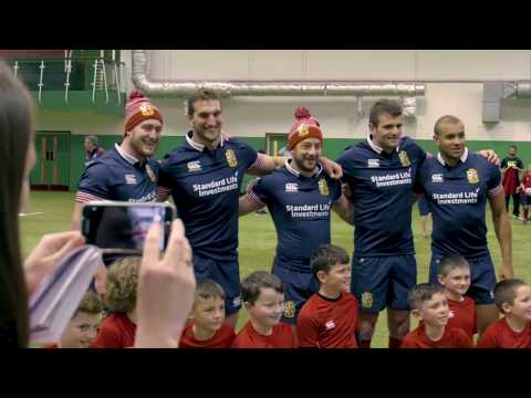 Tracking the Lions - Will Greenwood and George North