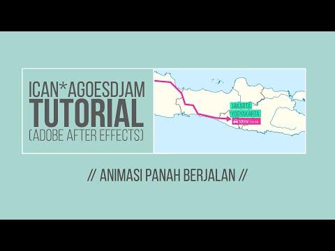 Animasi Panah Berjalan (Bahasa Indonesia)