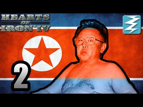 GREATEST COUNTRY IN THE WORLD [2] North Korea - Hearts of Iron IV HOI4 Paradox Interactive