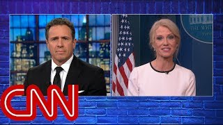Cuomo, Conway spar over continued Clinton talk