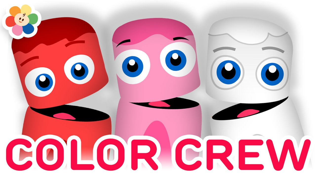 Color Collection 11 Learn Colors Red Pink White For Children Crew Babyfirst