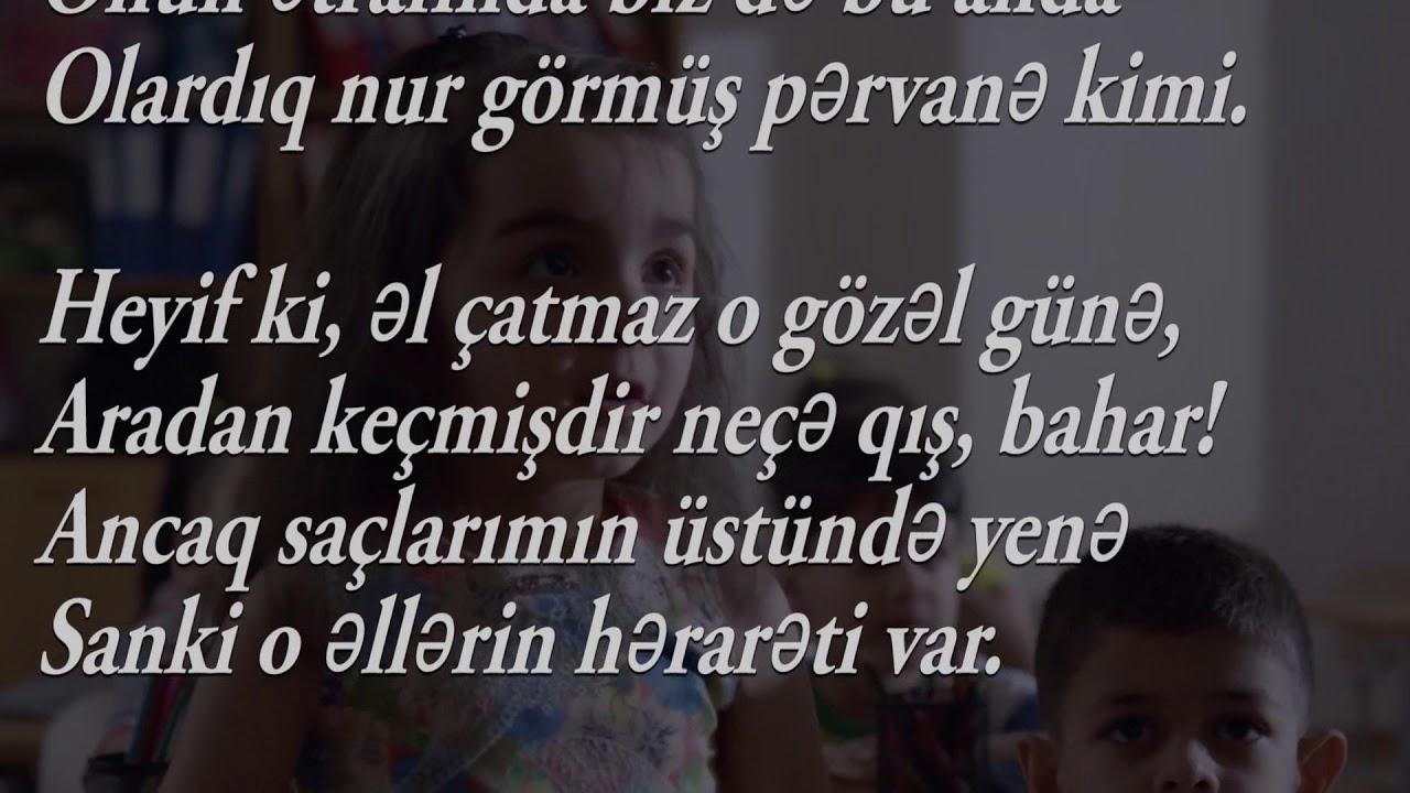 ədəbiyyat 6 Mirvarid Dilbazi Muəllimim Youtube