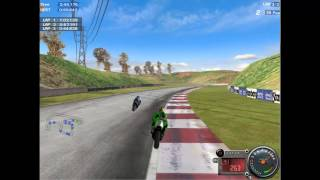 moto racer 3 gameplay hard mode best score