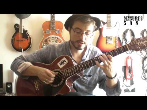 Shape of my heart (Sting) - Cours de guitare (1/2) + TABS