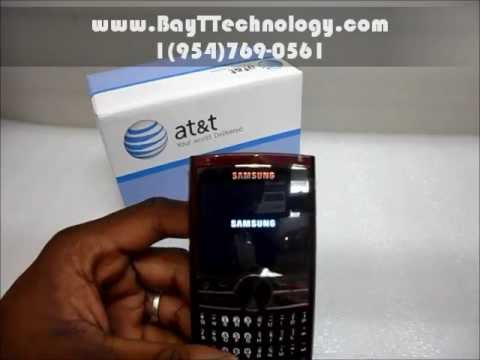 Cellphone Store Online-Samsung i617 Installing battery and simcard