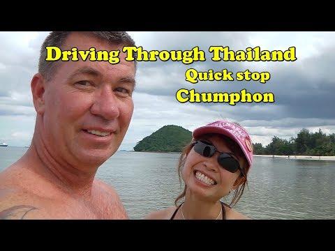 Quick beach stop chumphon Thailand