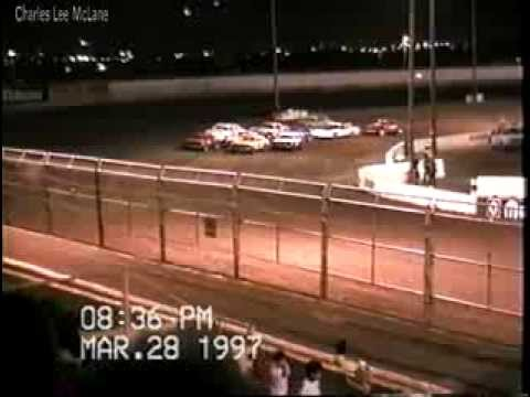 Mar 28 1997 Charles McLane car 50 heat race #3 Manzanita Speedway