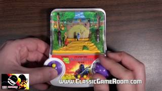 Classic Game Room - ELECTRONIC 3-D NINJA FIGHTER review
