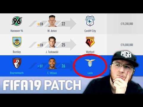 CAREER MODE CHANGES!!! TESTING THE NEW FIFA 19 PATCH!