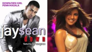 Down/Desi Girl by Penn Masala