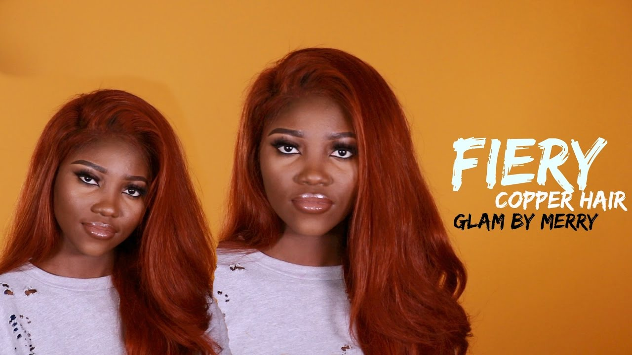 Diy Fiery Copper Hair Sza Amp Peakmill Inspired Youtube