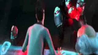 Evil Popcorn Man Kills Tobi from Astro Boy 2009