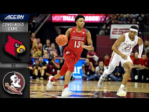 Louisville vs Florida State Condensed Game | 2019-20 ACC Men's Basketball