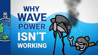 Why Can't We Get Power From Waves?