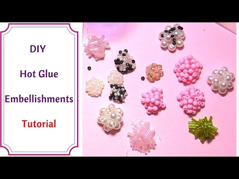 How to make Flower Center Embellishments : Very Easy Tutorial