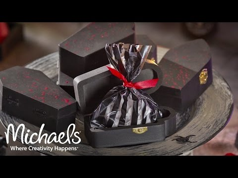DIY: Coffin Treat Boxes | Michaels