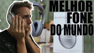 MELHOR FONE DO MUNDO - BOSE QUIETCOMFORT 35