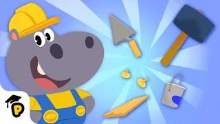 Düzeltme ve Hoopa | Çocuklar Öğrenme Karikatür | Dr. Panda TotoTime Sezon 1 & 2 ile inşa
