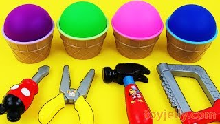 Kinetic Sand VS Mad Matter Kinetic Sand Ice Cream Kinder Surprise Eggs Baby Tool Toys Fun for Kids