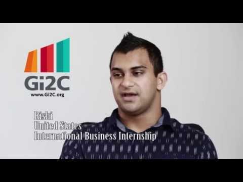 Meet Rishi - Shanghai Internship - International Business - Gi2C 2014