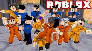 ROBLOX PRISON FIGHT