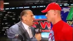 John Cena gets Fired 2011