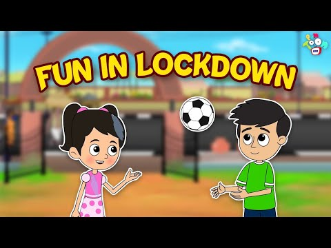 Fun in Lockdown   Lockdown with Family   Animated Story   English Cartoon   Moral Stories   PunToon