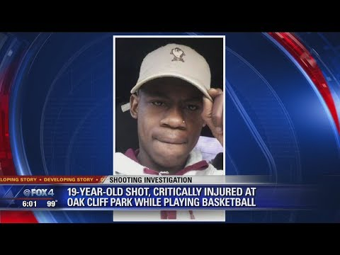 19-year-old shot at Oak Cliff basketball court