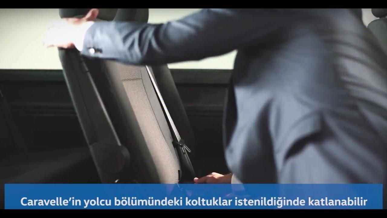 Caravelle In Koltuklari Nasil Katlanip Sokulur Youtube