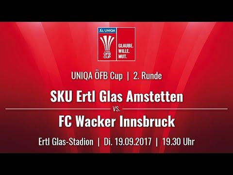 19.09.2017 / 19:30 Uhr SKU Ertl Glas Amstetten (AMS) vs. FC Wacker Innsbruck (FCW)