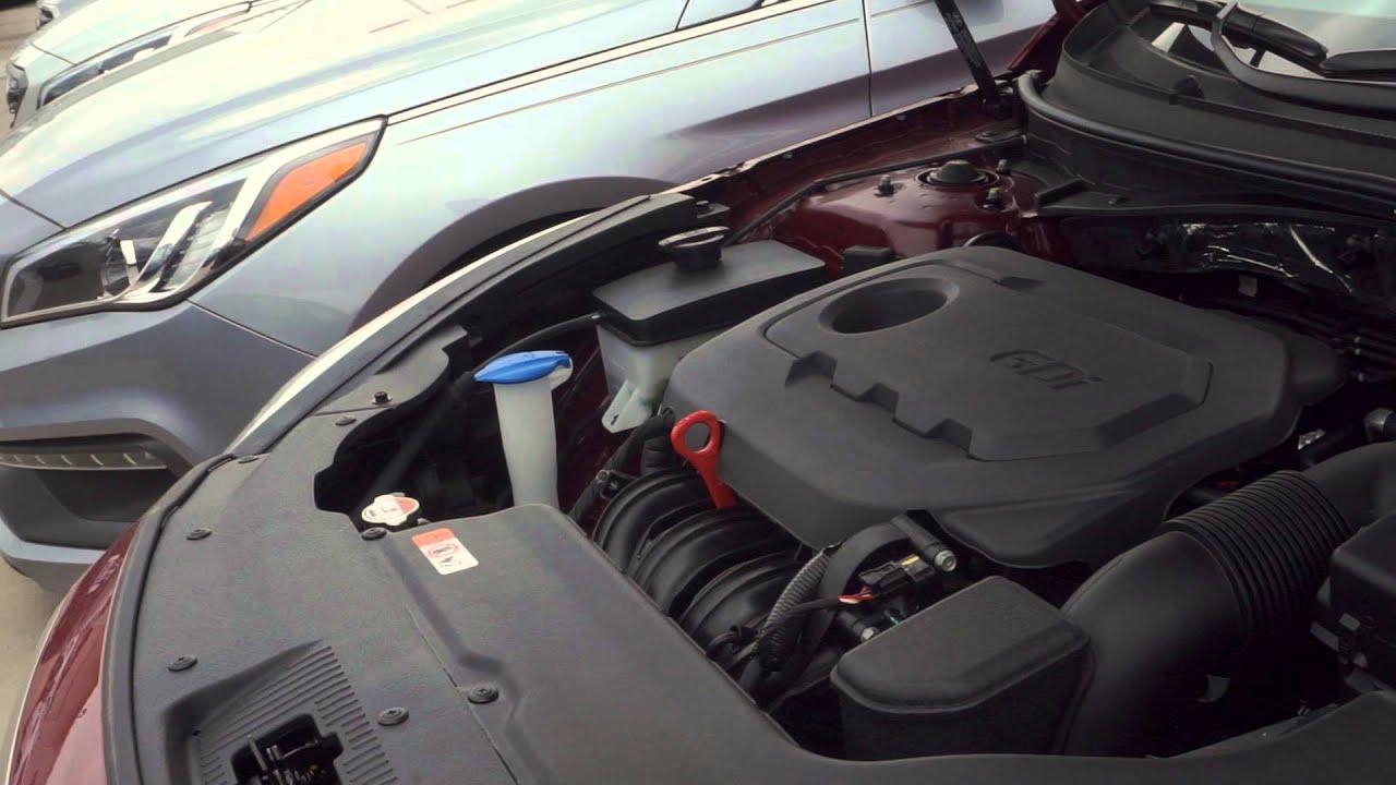 2016 Hyundai Sonata's 2.4GDI engine - YouTube