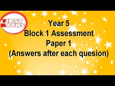Year 5 Termly Maths Assessments YouTube PowerPoint Presentation
