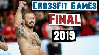 Final Crossfit Games 2019. Battle of Fraser and Ohlsen