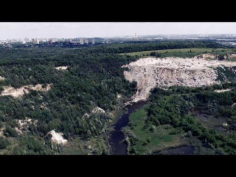 Мусорный Эверест Киева:
