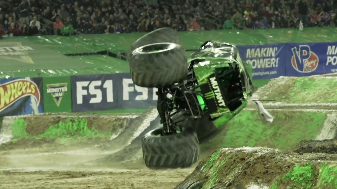 Monster Jam Houston Highlights - Stadium Championship Series 1 - Feb 10-11,  2018