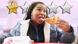 EATING AT THE LOWEST RATED RESTAURANT IN MY CITY! (1 STAR)