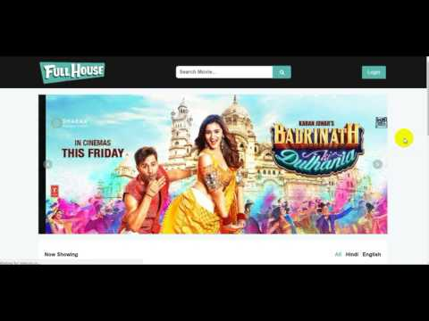 Online Movie Ticket Booking System - Project Video Presentation