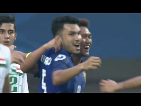 Iraq 3-3 Thailand (AFC U19 Indonesia 2018 : Group Stage)