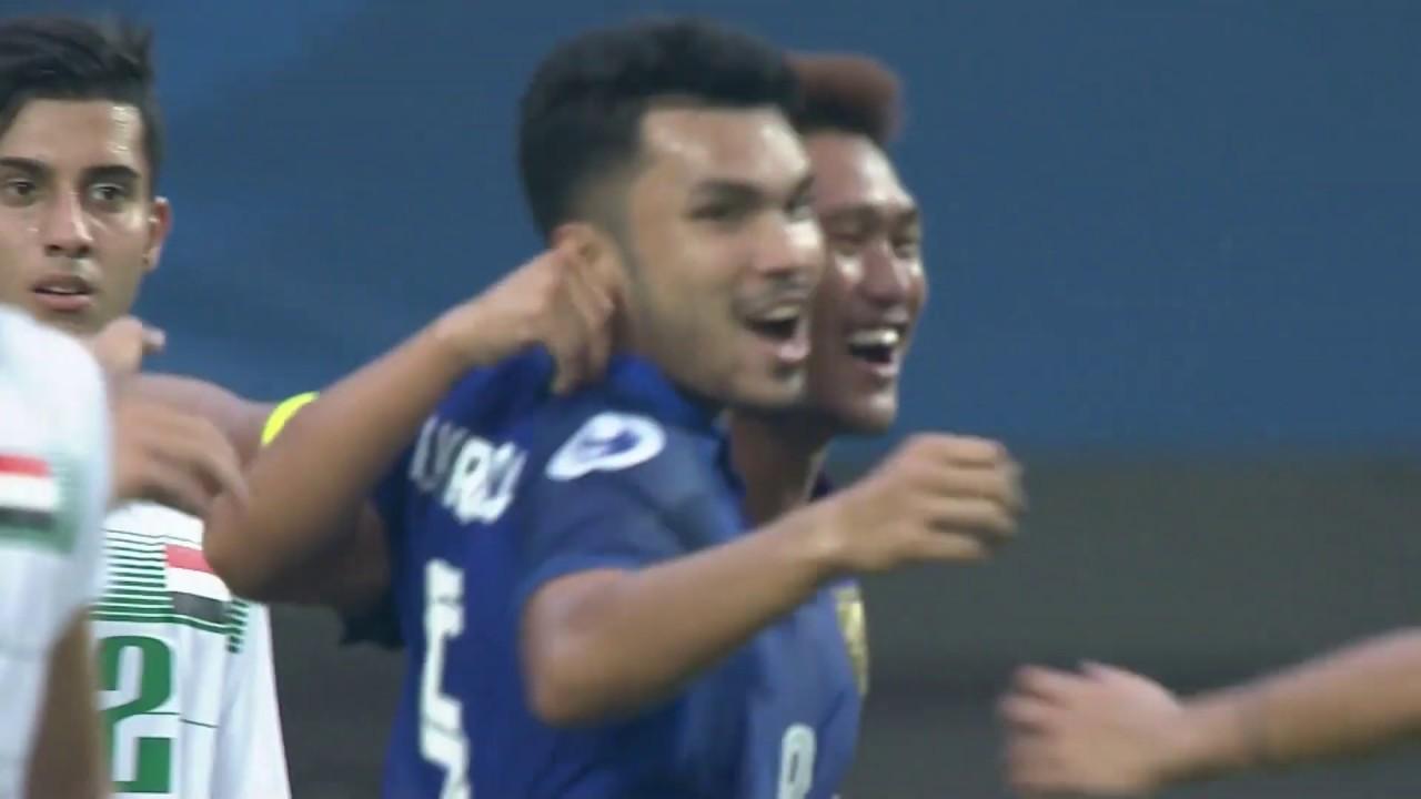 Video: U19 Iraq vs U19 Thái Lan